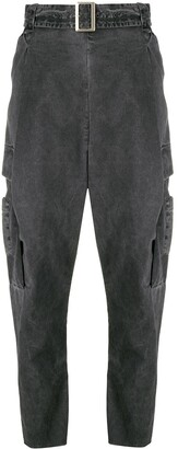 Masnada High-Waisted Trousers