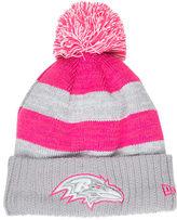 New Era Women's Baltimore Ravens NFL 2016 Breast Cancer Awareness Sport Knit Hat