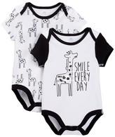 Boppy Giraffe Bodysuits - Set of 2 (Baby Boys)