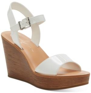Jessica Simpson Miercen Platform Wedge Sandals Women's Shoes