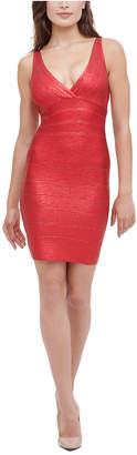 Marciano Bandage Foil Dress