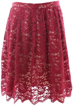 Erdem Red Viscose Skirts
