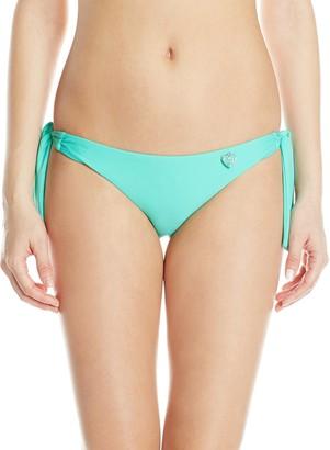 Body Glove Women's Smoothies Tie Side Tropix Bikini Bottom