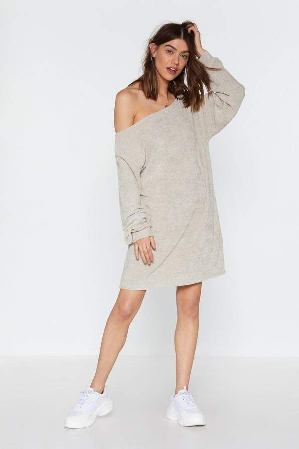 cb03d500875 Off Shoulder Sweater Dress - ShopStyle