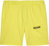 Moschino Logo cotton shorts 6-36 months