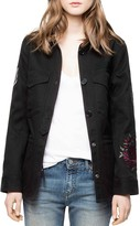 Zadig & Voltaire Tackl Military-Inspired Shirt Jacket