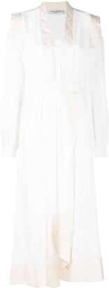 Philosophy di Lorenzo Serafini Quilted Robe Dress