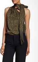 Rachel Zoe Erica One-Shoulder Silk Blouse