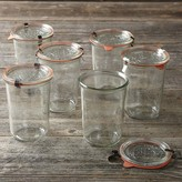 Williams-Sonoma Weck Mold Jars, Set of 6