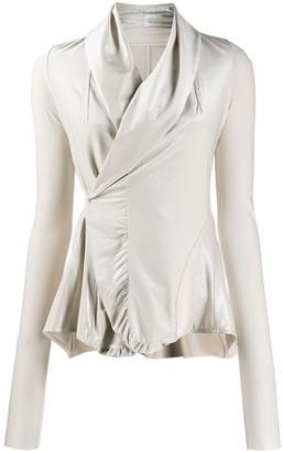 Rick Owens Lilies Wrap-Style Blouse