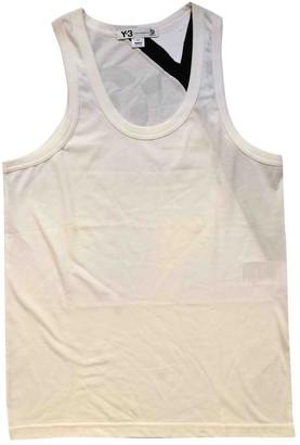 Y-3 White Cotton T-shirts