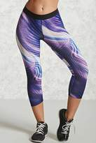 Forever 21 Active Abstract Capri Leggings