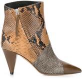 Isabel Marant Python print boots