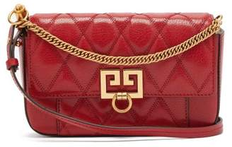 Givenchy Gv3 Mini Leather Cross-body Bag - Womens - Red