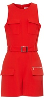 Thierry Mugler Mid-weight crepe playsuit
