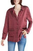 Madewell Women's Oversize Silk Pajama Shirt