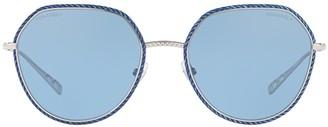 Chanel Round Frame Aviator Sunglasses
