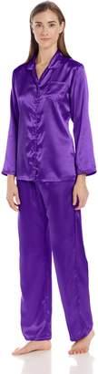 Intimo Women's Satin Pajama Set