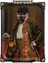Ibride Galerie De Portraits - Large Rectangular Tray - Cornelius