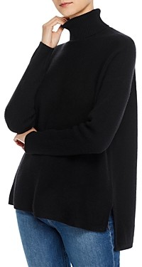 C by Bloomingdale's High/Low Cashmere Turtleneck Sweater - 100% Exclusive