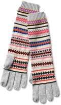 Gap Merino blend fair isle smartphone gloves