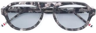 Thom Browne Eyewear Tinted Lenses Sunglasses