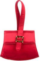 Salvatore Ferragamo Embellished Satin Bag