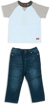 7 For All Mankind Boys' Colorblocked Tee & Jeans Set - Sizes 2T-4T