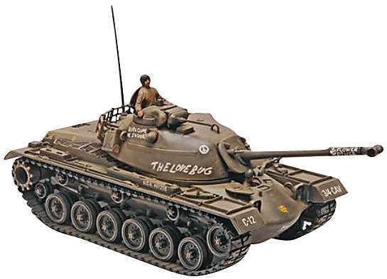 Monogram Revell 1:35 M48A2 Patton Tank