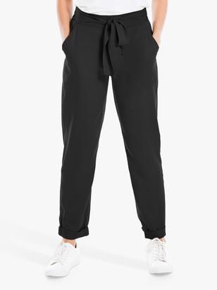 Max Studio Slim Leg Trousers, Black