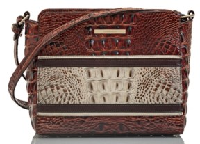 Brahmin Savino Carlsen Leather Carrie Crossbody