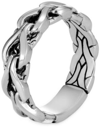John Hardy Asli Classic Chain 6MM Sterling Silver Band Ring