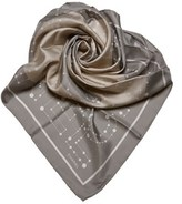 Chanel Pre-owned: Cc Patterned Silk Scarf.