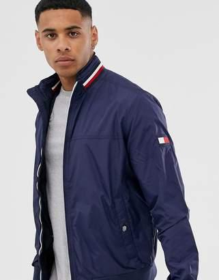 Tommy Hilfiger nylon bomber jacket-Navy