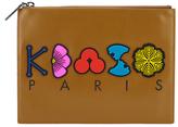 Kenzo Women's Occassions A4 Clutch Tan