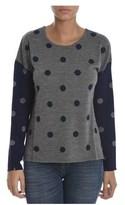 Sun 68 Women's Blue/grey Wool Sweater.