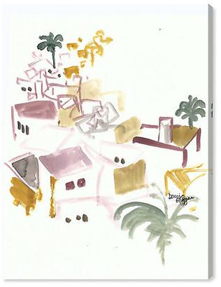 Oliver Gal Denise Elnajjar - Roof Tops in Ibiza Artist Co. Art