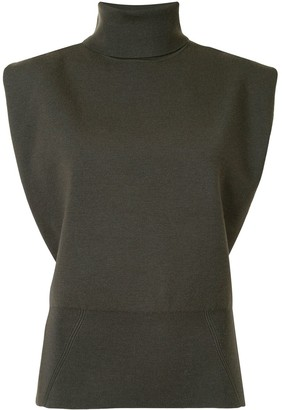 3.1 Phillip Lim Sleeveless Knitted Top