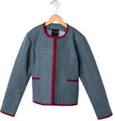 Oscar de la Renta Girls' Wool Jacket