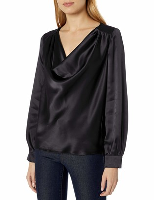 Parker Women's Galway Long Sleeve Cowl Blouse