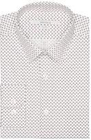 Perry Ellis Slim Fit Mini Paisley Dress Shirt