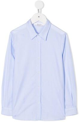 Bonpoint Plain Button Shirt