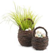 Twig Basket with Handle, Large