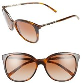 Burberry Women's 57Mm Sunglasses - Light Havana