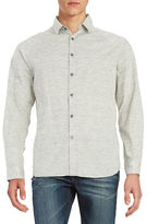 Howe Spacedye Button Front Shirt