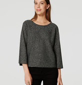 LOFT Petite Speckled Sweater