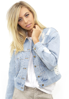 West Coast Wardrobe Bronco Jacket in Denim