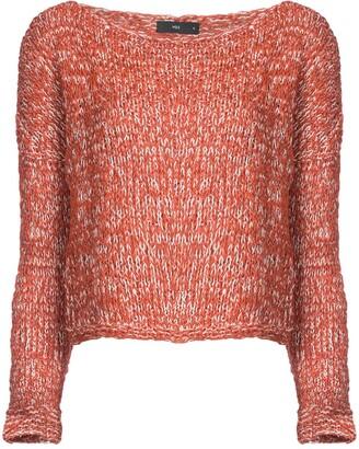 Voz Off-Shoulder Knitted Jumper