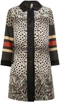 Herno x Pierre-Louis Mascia printed coat