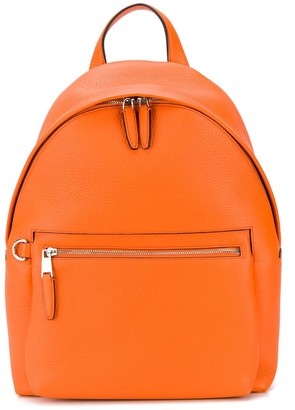Mulberry Zipped Heavy Grain Backpack